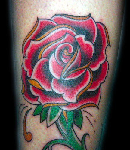 tattoo rosas. Tatuaje Rosa Pupa Tattoo