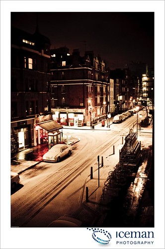 Snow in London 003