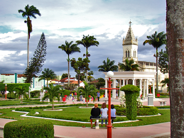 Jardim em Amargosa