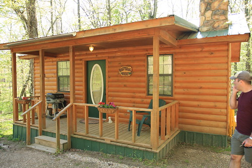 Our little cabin