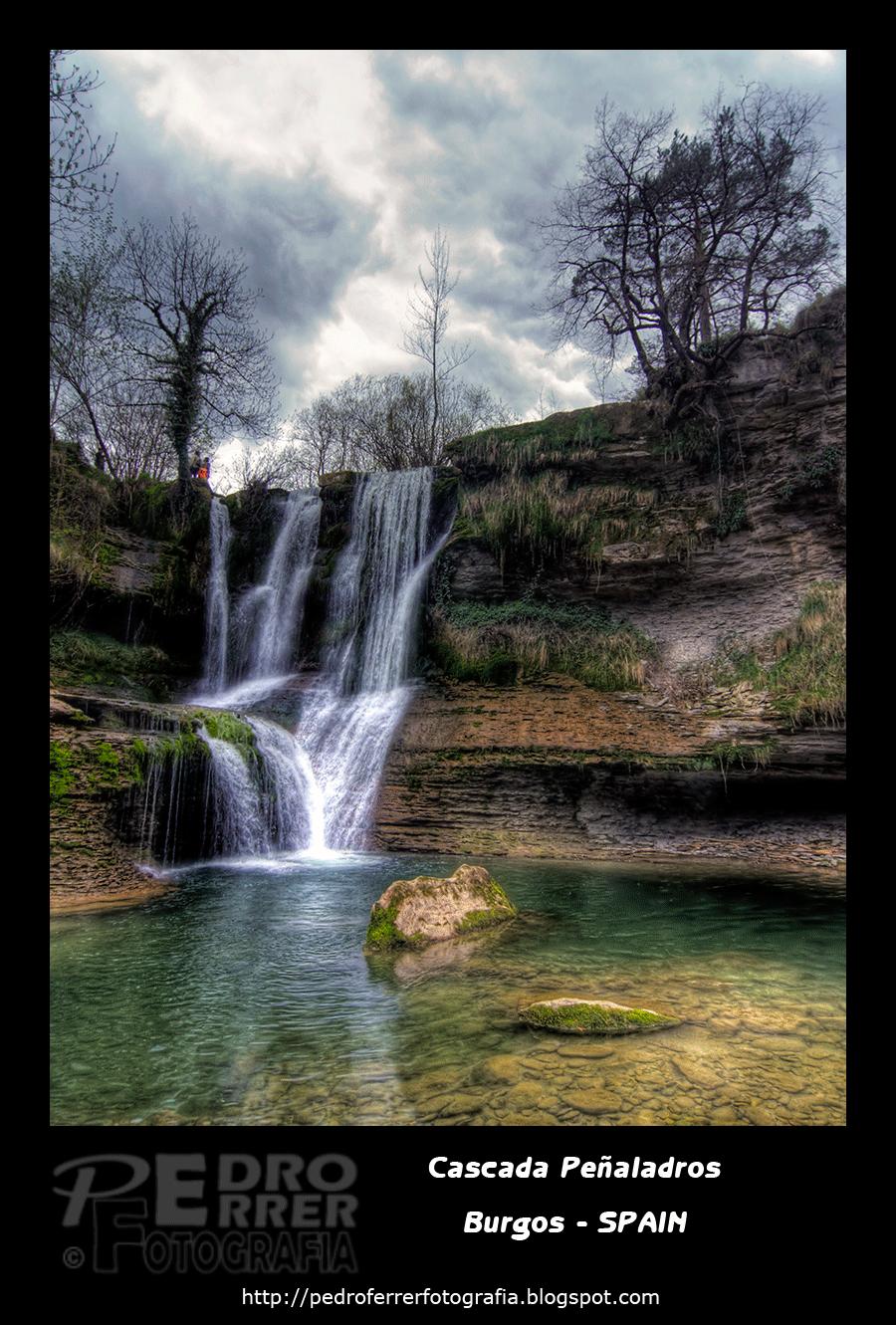 Cascada Peñaladros - Cozuela - Valle de Mena  - Burgos
