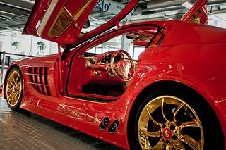 Anliker McLaren SLR 999  Red Gold Dream