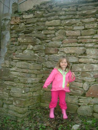 Devon Against Old Mill Wall