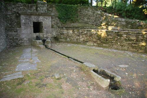 Fonte do parque de Bonaval