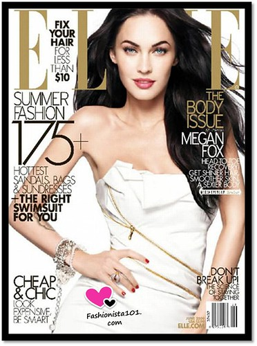 Megan Fox Covers ELLE Magazines June 2009 Body Issue!