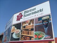 Werbung Bauernmarkt (ThomasKohler) Tags: mecklenburgvorpommern klink bauernmarkt mritzer