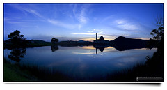 Alternation of Day & Night (AnNamir™ c[_]) Tags: sunset wallpaper panorama canon 350d mosque moment masjid senja mesjid maghrib kualakubu freewallpaper kkb annamir puteracom masjiddq tasikhuffaz getokubicom huffazlake iluvislamcom placeofphotographer wallpaperiluvislamcom