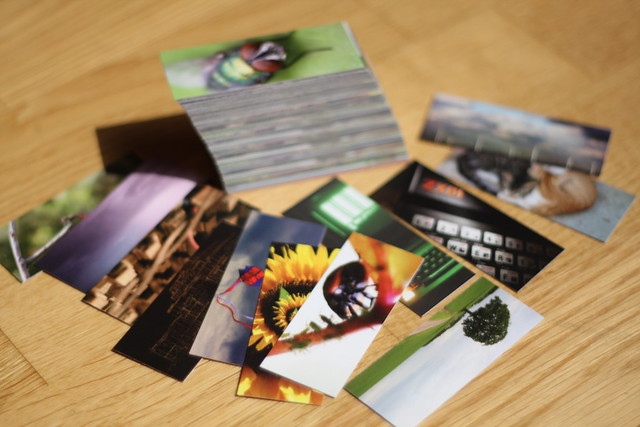 Got me some Moo Minicards