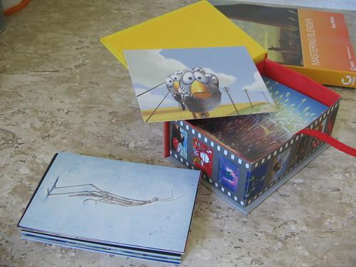 Cartões postais da Pixar - Caixa Aberta