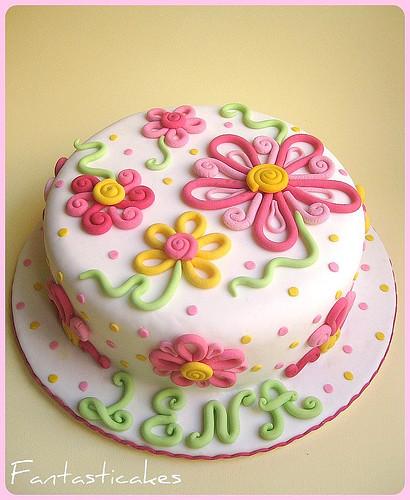 Torta Fiori Alana / Alana's Flowers Cakes