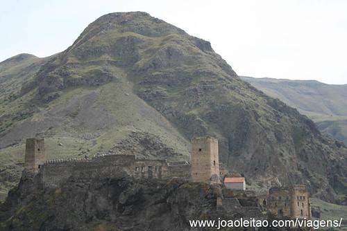 Castelo de Khertvisi na Georgia