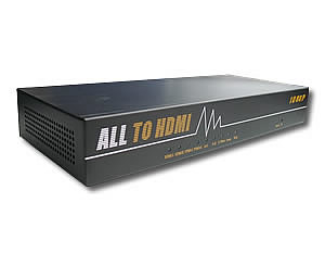 All Video to HDMI Scaler & Switch