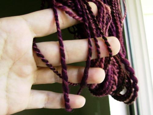 Yarn size