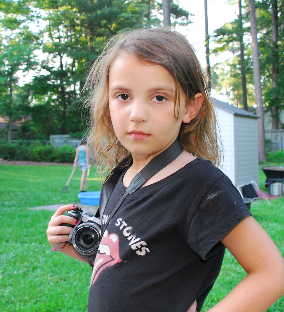 Girl Photographer Age 5