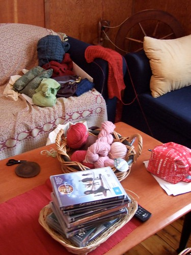 Knitting Corner at Kylie's