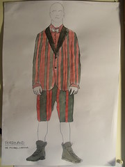 (HollyMHodgart) Tags: design costume drawings thetempest rsamd