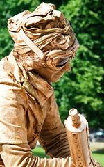 Golden Street Performer (chrismar) Tags: portrait boston delete10 canon delete9 ma delete5 350d gold delete2 delete6 delete7 massachusetts may save3 delete8 delete3 delete delete4 save save2 save4 streetperformer save5 rebelxt mass 1785mm 2009 bostoncommon dmu views100