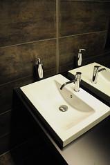 first class washhandbasin (Toni_V) Tags: reflection station architecture switzerland zurich lounge toilet sbb zürich 2009 mainstation d300 toniv 1685mm 090623