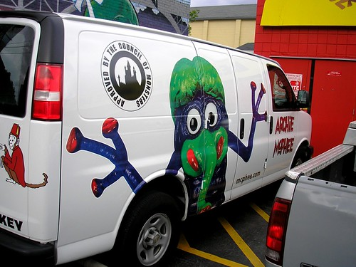 This van is approved by the Council of Monsters