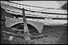 Tools of the Trade (Africa Dave) Tags: football construction stadium fifa soccer worldcup pick build tool 2010 mosesmabhida