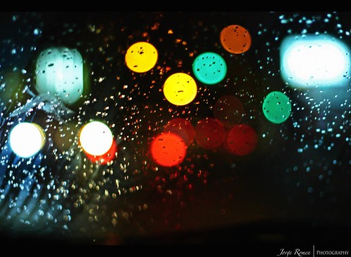 Windshield Bokeh