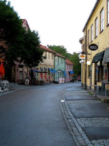 Sigtuna - a picturesque town by a lake.