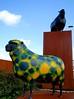 Psychadelic Sheep (mad jeff) Tags: art sheep shrewsbury psychadelic