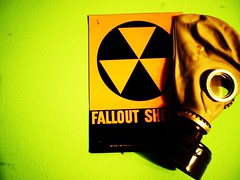 The Fallout Shelter (the beach in the sand) Tags: sign war mask nuclear gas radioactive gasmask falloutshelter shelter bomb atomic coldwar bombshelter atomicbomb fallout nuclearbomb cubanmissilecrisis