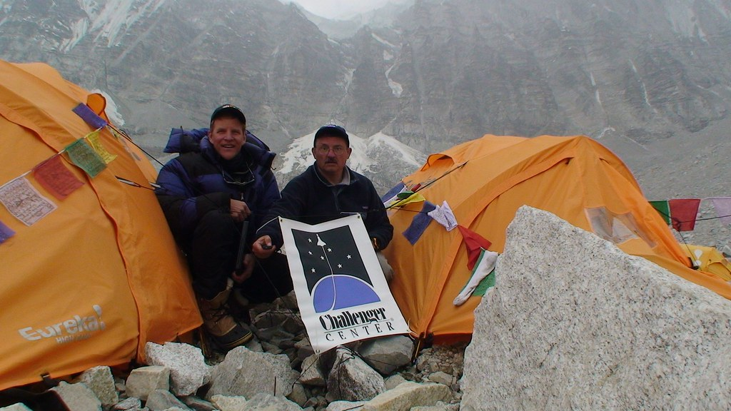Challenger Center at Everest Base Camp