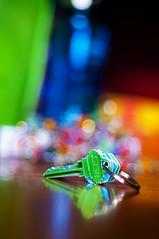 Keys To My Heart (michaeljosh) Tags: love colors reflections keys poetry poem heart bokeh nikkor50mmf14d project365 nikond90