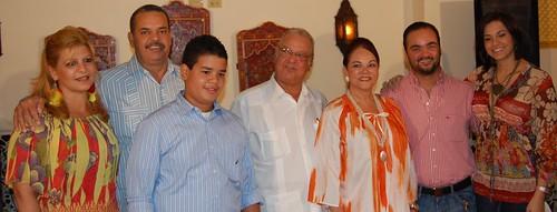 La familia Polanco y Beras Goico