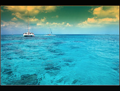 Butterfly effect (lorytravelforever) Tags: blue sea clouds butterfly cuba catamaran caribbean cuban corals 10mm tonemapping cayolargodelsur nikond40 holidaysvacanzeurlaub saariysqualitypictures magicunicornverybest iwantcolours granbeneglifaquelbacinoal10mm