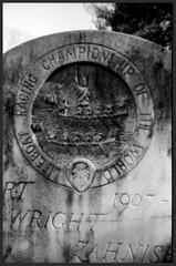 The Champion (photo_secessionist) Tags: bw cemeteries film grave analog 35mm blackwhite poem tombstone 1940 champion maryland bn soviet fed ussr cccp foma selfdeveloped cementerios fomapan aehousman cimiteri stjamesepiscopalchurch uncoated cimetires ashropshirelad friedhoefe afavouritepoet nkvd solomonsmaryland autaut lusbymaryland fedf3550mmlens fed1d lifeboatracingchampionship