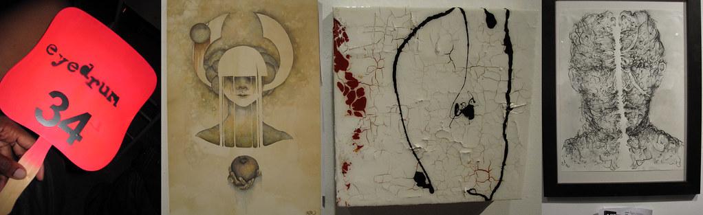 Eyedrum Art Auction Options