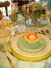 Yellow/Green Table