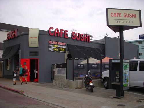 Cafe Sushi Venice Beach