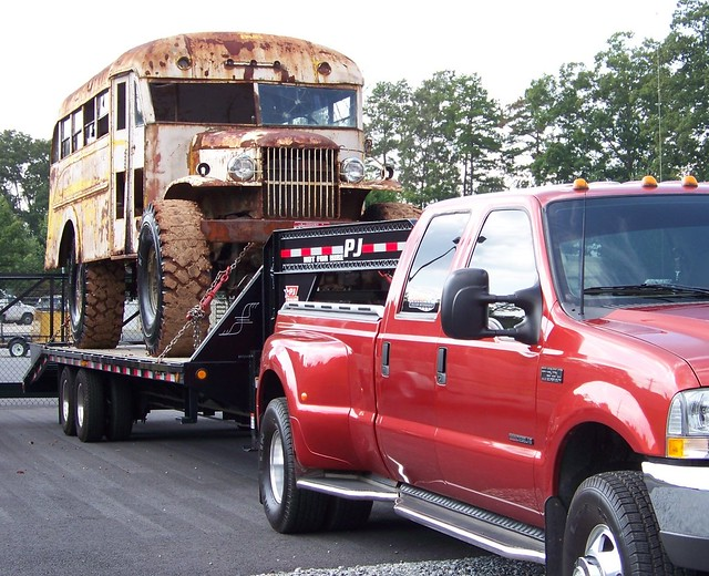 rust mud 4x4 badass superduty fordf350 monsterschoolbus