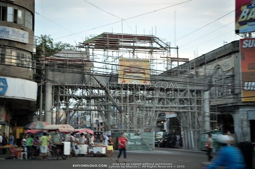 Filipino Chinese Friendship Arch in Iloilo City Proper   May 2011 Update