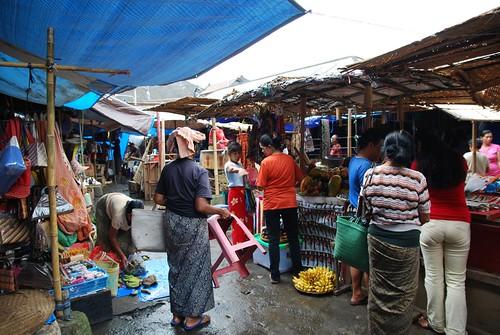 Fruit stalls - Ubud Market