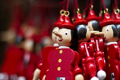 Pinokio dolls (Tal Ben-Moshe) Tags: wood red doll pinokio