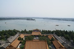 View from the top of the Summer Palace