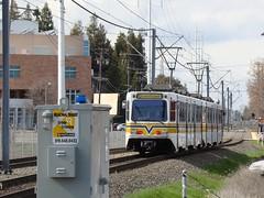 Sacramento RT Light Rail -- University/65th Street (1) (El Cobrador) Tags: california siemens sacramento lightrail rt regionaltransit sacrt duewag u2a srtd