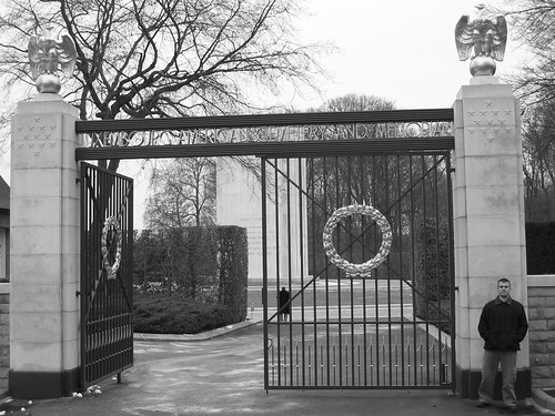 Gates of the American Military Cemetary