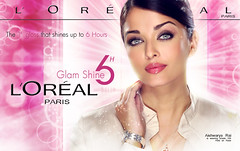 LOREAL ... !! (Bally AlGharabally) Tags: world pink wallpaper india beautiful beauty angel design perfect shine designer indian dancer singer actress glam charming ambassador miss rai loreal aishwarya kuwaiti bachchan bally gharabally algharabally hashomeeep