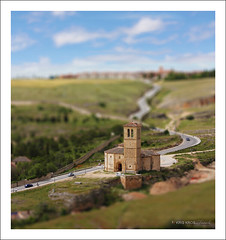 tsf - tilt shift friday #2 - spain (Kris Kros) Tags: blur church photoshop lens miniature spain model tsf mary touch models fake shift kris eliza friday tilt kkg fakes cs4 kros kriskros conceptualimage kktouch friendscorner kkgallery