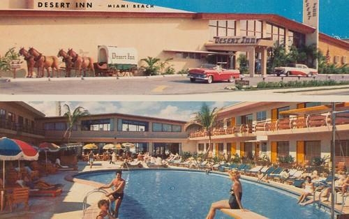 Desert Inn Resort Motel - Miami Beach, Florida