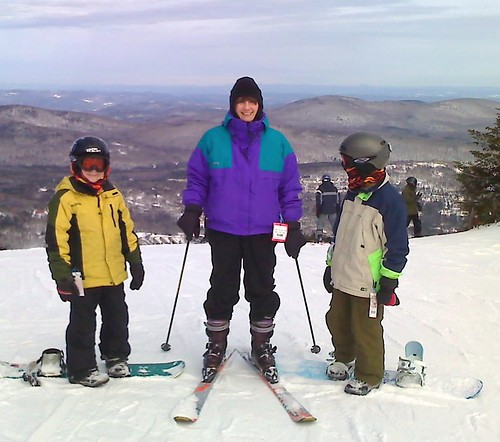 Top of Mt Snow