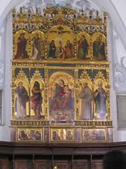 Polittico di Simone da Firenze XVI secolo - Senise