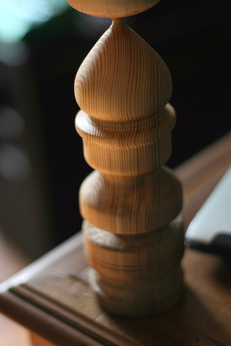 Roughed out finial