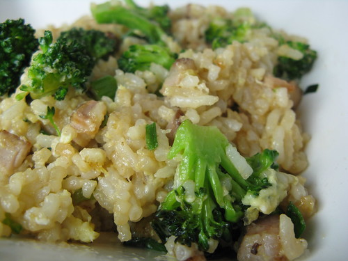 Pork Fried Rice with Broccoli
